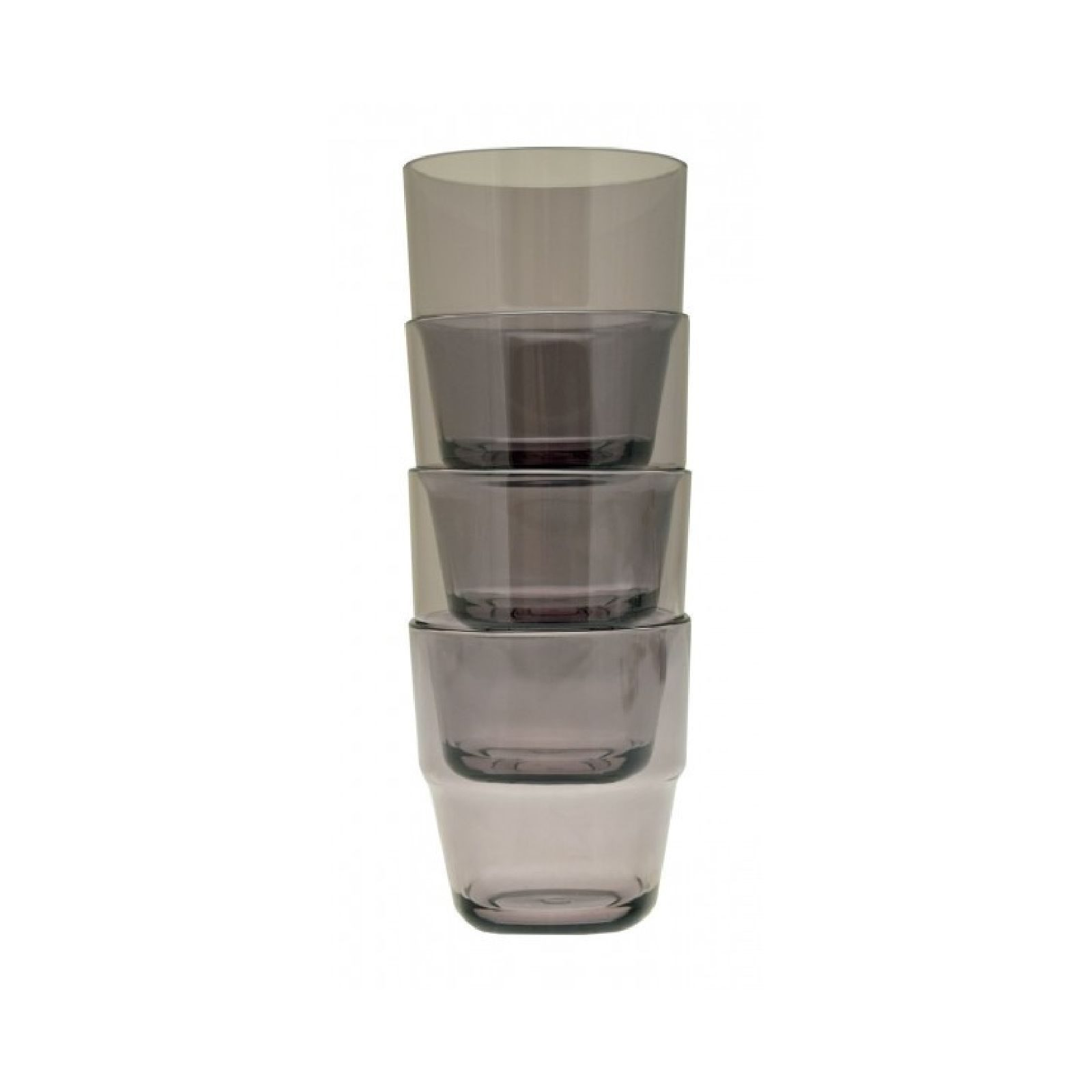 Flamefield 4 pack of stackable tumblers