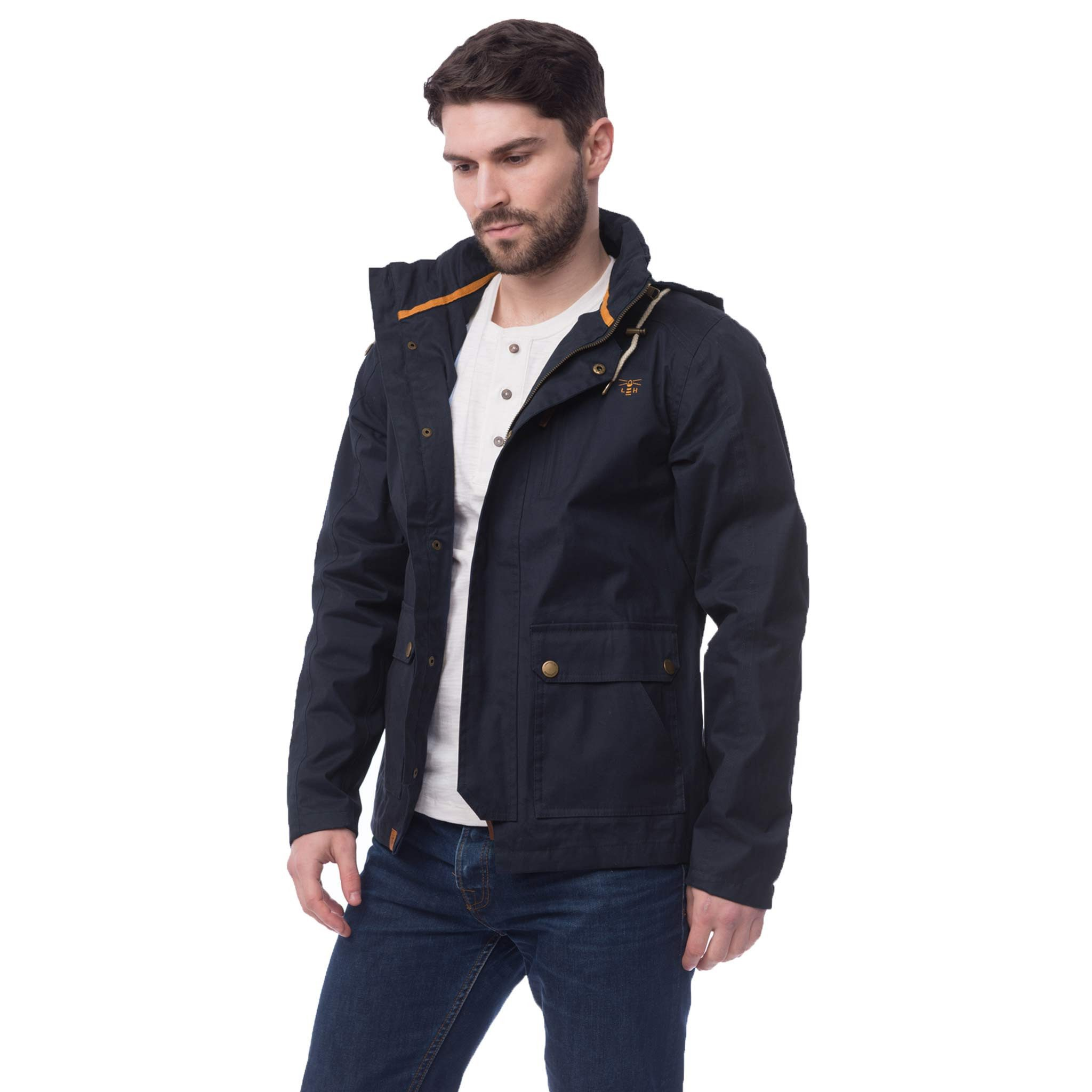 Lighthouse Islander Jacket - Navy