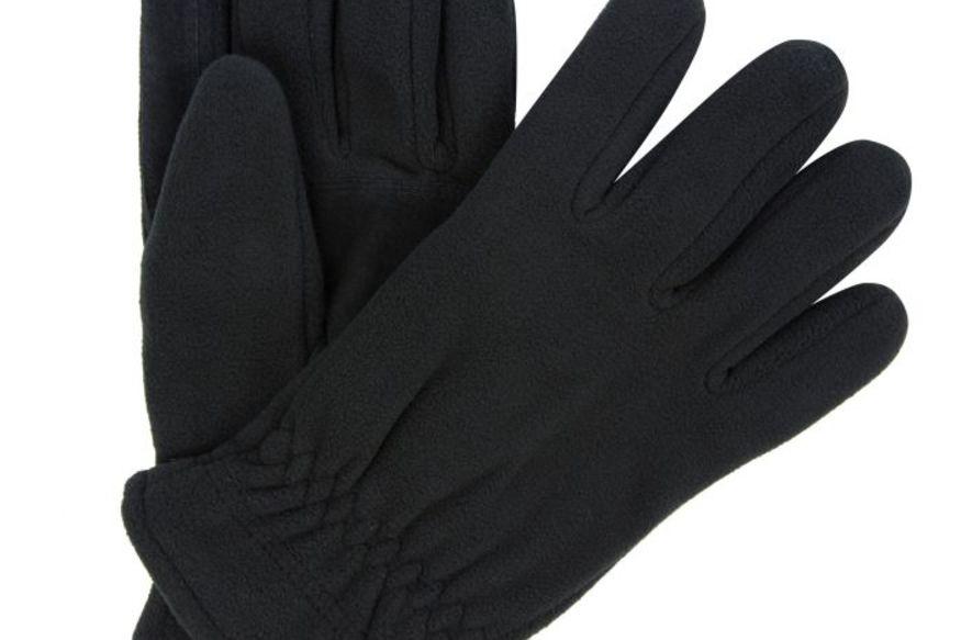 Regatta Mens Men/'s Kingsdale Thermal Microfleece Gloves Black