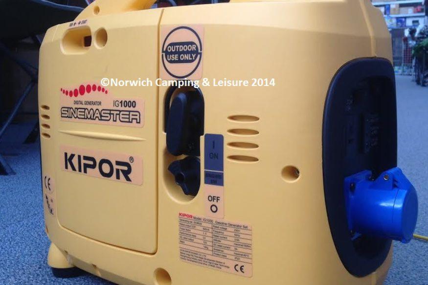 Kipor Generator | Caravan | Norwich | Norwich Camping