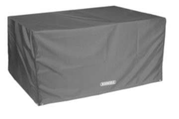 Wondrous Bosmere Storm Black Rectangular 8 Seater Table Cover D560 Home Interior And Landscaping Ologienasavecom